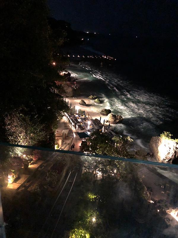 バリの夜景